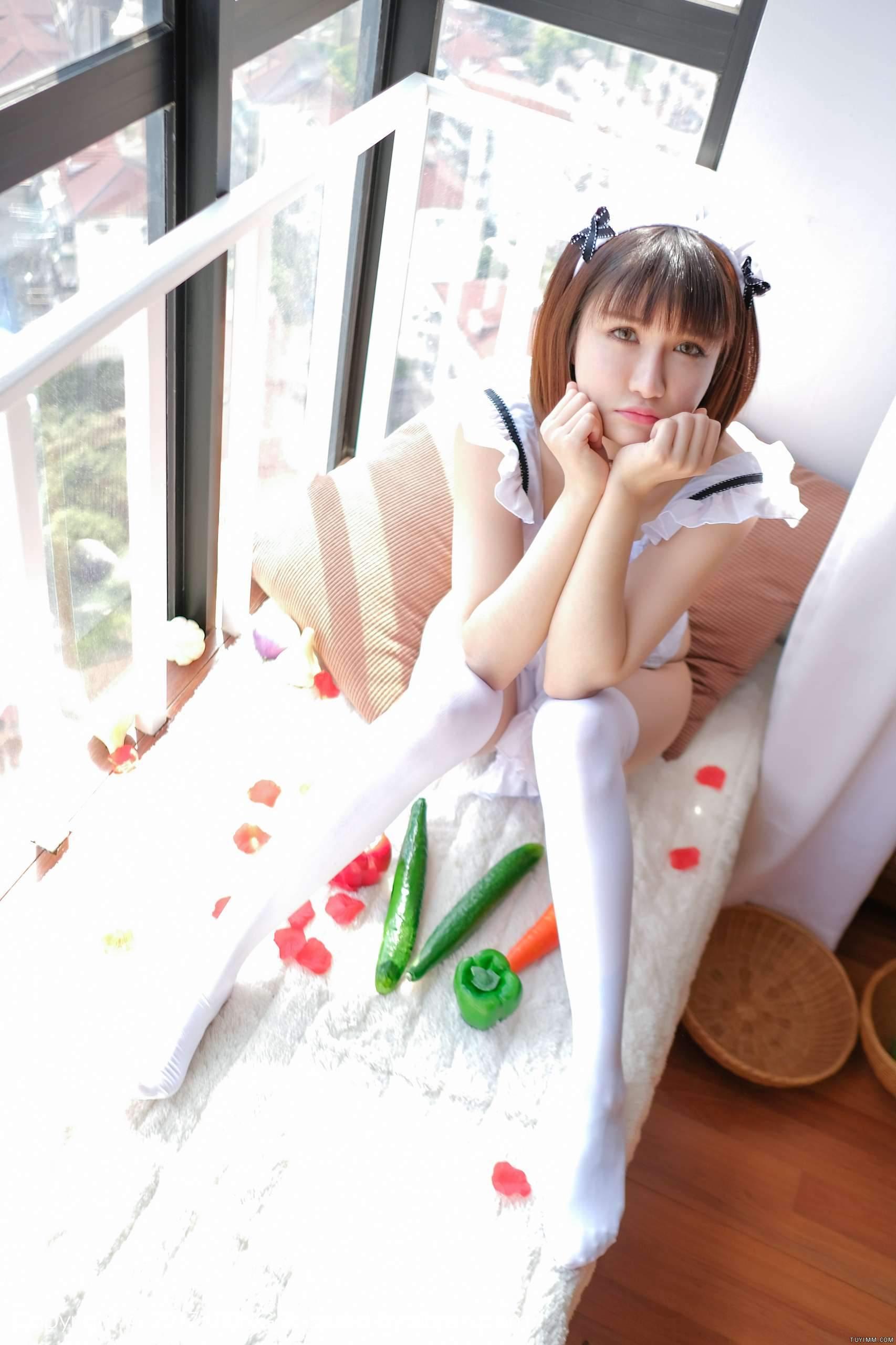 """[福利]傲娇萌萌Vivian的""""Q家乐园""""-第2张图片-哔哔娱乐网"""